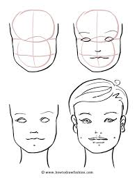 600x777 how to draw fashion how to draw the face eyes nose and lips