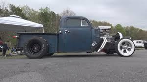 51 ford hot rod rat rod pickup truck paradise dragstrip youtube