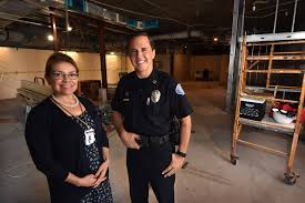 garden grove pd begins major remodel of lobby records division
