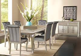 Hefner Platinum 5 PC Dining Room Badcock Home Furniture & More
