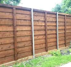 Wooden Fence Ideas Horizontal Wood Fence Panels Remarkable