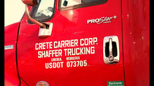 Crete Trucking Pay Actual Pay Stub