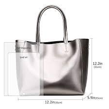 fmeida women s handbag leather work tote las shoulder satchel bag for date party b079jy8s9q