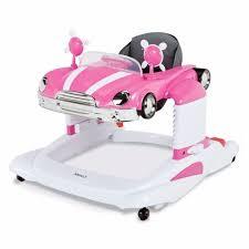 Baby Girl Activity Walker Entertainer Pink Mobile Car Infant Toddler ...