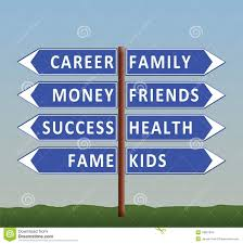 dilemma of life career or family royalty stock images dilemma of life career or family