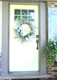 lighted wreaths for windows hanging a wreath on front door hang outdoor