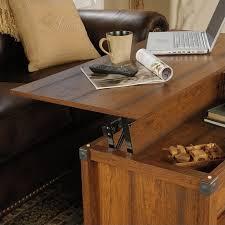 lift top coffee table in washington cherry
