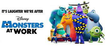 """New """"Monsters At Work"""" Poster Released ..."""