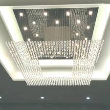 square crystal chandelier modern crystal chandelier new square modern string big crystal chandeliers hotel lobby regarding
