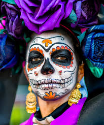 how to wear sugar skull makeup without