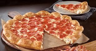 pizza hut pepperoni stuffed crust. Modren Stuffed News Pizza Hut  New Bacon And Cheese Stuffed Crust Throughout Pepperoni 2