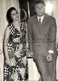 التاريخ السوري - نزار قباني وزوجته العراقية بلقيس الراوي في بيروت عام 1978