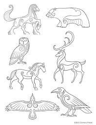 Celtic Works Old Age Keltské Umění Keltský A Kresby