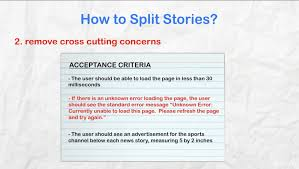 Agile User Story Acceptance Criteria Template User Stories For Agile Scrum Product Owner Business Analysis Review
