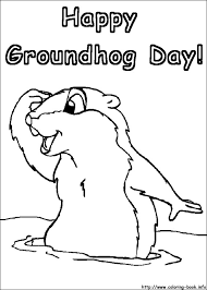 Small Picture Groundhog Day coloring pages on Coloring Bookinfo