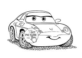 25 Free Disney Coloring Pages Kids, Sally Cars Coloring Page For ...