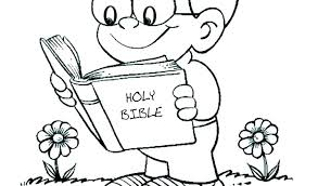 Bible Coloring Pages For Preschoolers Creation Building The