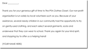 letter for volunteers thank you for volunteering letter sinma carpentersdaughter co