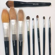 elianto make up brush set negotiable preloved health beauty makeup on carousell