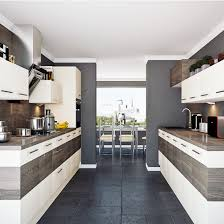 galley kitchen. contemporary colour block galley kitchens kitchen e