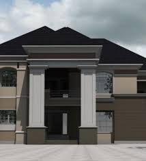 Small Picture Bedroom Bungalow House Plans In Nigeria Cost Of Building A 5