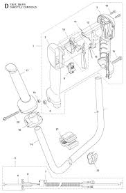 Husqvarna01912 husqvarna 336 fr trimmer throttle controls spare parts diagram on weed eater riding mower wiring diagram