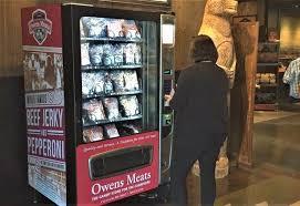 Vending Machine Diagnostic Menu Adorable Dan Murphy The Meat Machine Pork Business