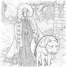 Game Of Thrones Coloring Book Game Of Thrones Photo 39162292