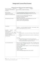 Single Subject Lesson Plan Template One Subject Weekly Lesson Plan Template Barebeppe