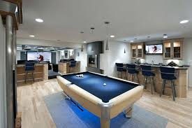 game room lighting ideas. Game Room Lighting With Pool Table Ideas Basement Contemporary Brushed Aluminum Strips Modern . 9