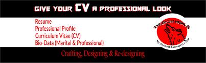 Cv Resume Bio Data Profile Writing Tips Mohammad Asad Bin