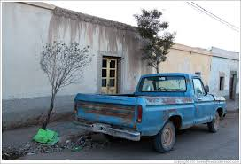Blue pickup truck. (Photo ID 20288-sananton)