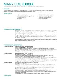 Architec Resume New York - Interior design resume entry level