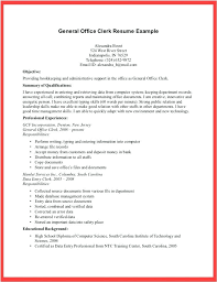 Office Clerk Resume Sample Office Clerk Resume Office Assistant