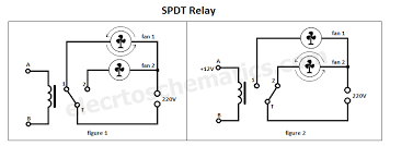 spdt relay single pole double throw spdt relay