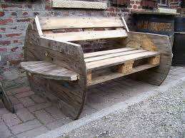 using pallets to make furniture. Interior Design: Recycled Wood Crates And Pallets Make Cool Pieces Of Furniture - Flea Market InsidersFlea Insiders Using To