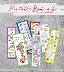 Edit bookmark names, edit bookmark colors, edit bookmark style, edit bookmark action, create bookmarks from an outline, create bookmarks from text and excel. Free Printable Bookmarks To Color And Craft Carla Schauer Designs