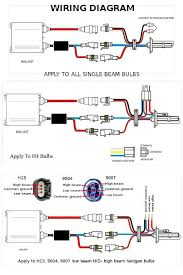 9004 bulb diagram wiring diagram Sealed Beam Headlight Wiring Diagram at Wiring Diagram For H4 Bulb