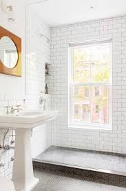 Bathroom Window Awesome Sun Filled Bathroom Features A Seamless Glass Shower Filled With