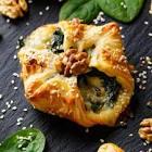 bleu cheese and spinach puffs
