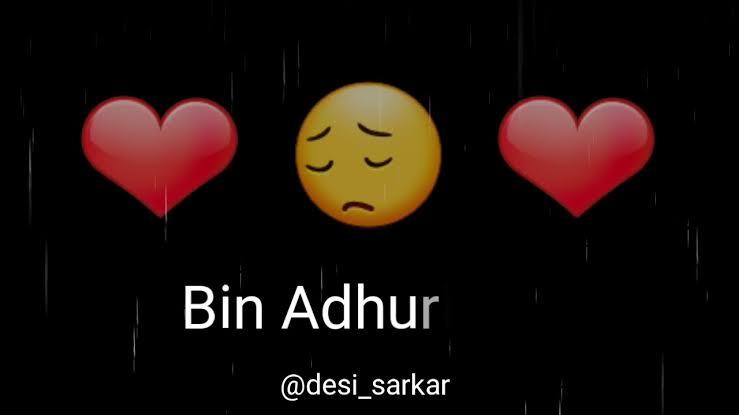 heart touching love status sad