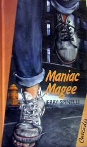 the best maniac magee ideas pete the cat art top 100 children s novels 40 maniac magee by jerry spinelli