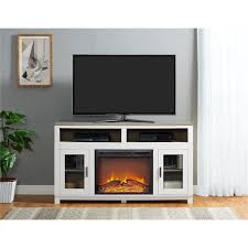 living room with electric fireplace and tv. Ameriwood Home Carver Electric Fireplace TV Stand For TVs Up To 60 Inches Living Room With And Tv T