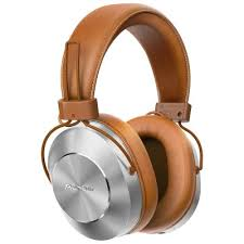 pioneer bluetooth headphones. pioneer se-ms7bt-t bluetooth headphones with smartphone controls \u0026 mic - tan u