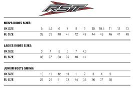 Rst Race Suit Size Chart Sizing Charts My Moto