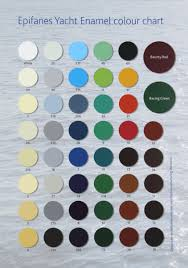 Epifanes Colour Chart Epifanes Yacht Enamel