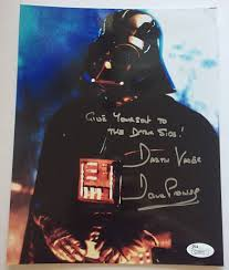 David Prowse Signed 8X Inscribed