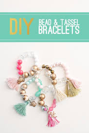 cool summer fashions for teens diy bead and tassel bracelets easy sewing projects and