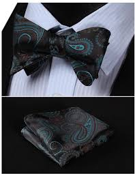 Light Up Bow Tie Party City Hisdern Mens Polka Dot Floral Jacquard Woven Self Tie Bow