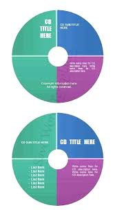 Template For Cd Labels Arcgerontology Info